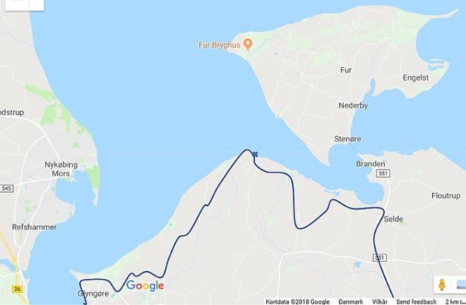 Karte NibeTour